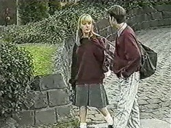 Melissa Jarrett, Todd Landers in Neighbours Episode 1048