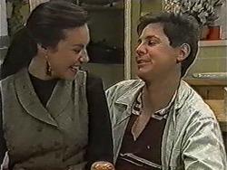 Kerry Bishop, Joe Mangel in Neighbours Episode 1048