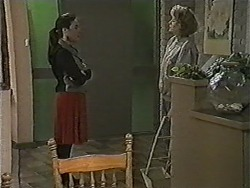 Kerry Bishop, Madge Bishop in Neighbours Episode 1048