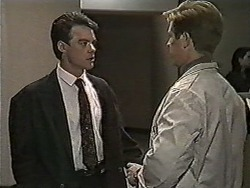 Paul Robinson, Clive Gibbons in Neighbours Episode 1050