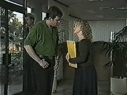 Des Clarke, Sharon Davies in Neighbours Episode 1050