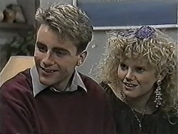 Nick Page, Sharon Davies in Neighbours Episode 1050