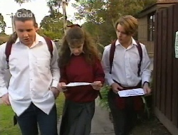 Toadie Rebecchi, Hannah Martin, Billy Kennedy in Neighbours Episode 2708