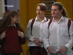 Hannah Martin, Billy Kennedy, Toadie Rebecchi in Neighbours Episode 2708