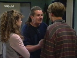 Hannah Martin, Toadie Rebecchi, Billy Kennedy in Neighbours Episode 2708