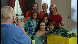 Minnie Kirk, Sally Kirk, Tess Bell, Steph Scully, Rose Kirk, Lyn Scully, Libby Kennedy, Susan Kennedy in Neighbours Episode 3708