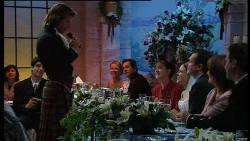 Drew Kirk, Steph Scully, Ron Kirk, Susan Kennedy, Libby Kennedy, Karl Kennedy, Rose Kirk, Stuart Kirk in Neighbours Episode 3708