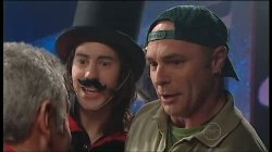 Gino Esposito, Dylan Timmins, Kim Timmins in Neighbours Episode 4899