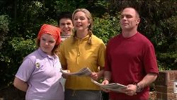 Bree Timmins, Stingray Timmins, Janelle Timmins, Kim Timmins in Neighbours Episode 4917