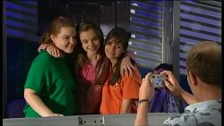 Bree Timmins, Summer Hoyland, Rachel Kinski, Max Hoyland in Neighbours Episode 4936