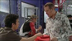 Stingray Timmins, Ned Parker, Max Hoyland in Neighbours Episode 5030