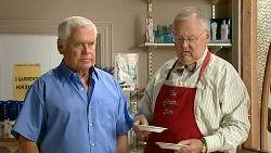 Lou Carpenter, Harold Bishop in Neighbours Episode 5200