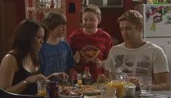 Libby Kennedy, Ben Kirk, Callum Jones, Dan Fitzgerald in Neighbours Episode 5646