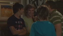 Zeke Kinski, Ringo Brown, Susan Kennedy, Karl Kennedy in Neighbours Episode 5647