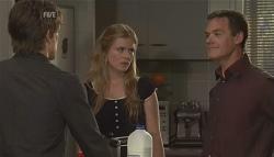 Mark Chaplin, Elle Robinson, Paul Robinson in Neighbours Episode 5648