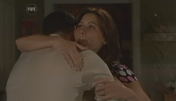 Andrew Simpson, Rebecca Napier in Neighbours Episode 5649