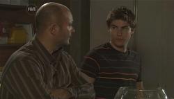 Steve Parker, Declan Napier in Neighbours Episode 5650