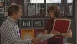 Dan Fitzgerald, Bridget Parker in Neighbours Episode 5651