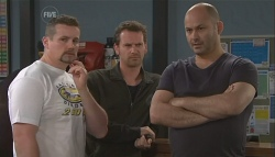 Toadie Rebecchi, Lucas Fitzgerald, Steve Parker in Neighbours Episode 5652