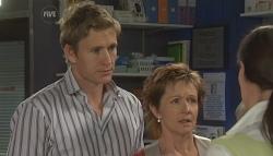 Dan Fitzgerald, Susan Kennedy, Dr Veronica Olenski in Neighbours Episode 5652