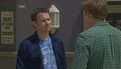 Lucas Fitzgerald, Dan Fitzgerald in Neighbours Episode 5653