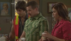Ty Harper, Toadie Rebecchi, Rebecca Napier in Neighbours Episode 5654