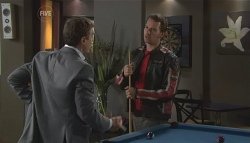 Paul Robinson, Lucas Fitzgerald in Neighbours Episode 5654
