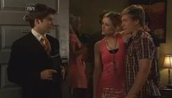 Declan Napier, Ashley Black, Ringo Brown in Neighbours Episode 5656