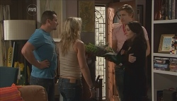 Toadie Rebecchi, Steph Scully, Dan Fitzgerald, Libby Kennedy in Neighbours Episode 5657