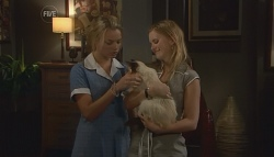 Donna Freedman, Cat, Elle Robinson in Neighbours Episode 5661
