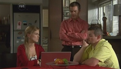 Elle Robinson, Paul Robinson, Toadie Rebecchi in Neighbours Episode 5661