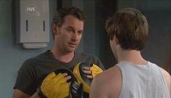Lucas Fitzgerald, Declan Napier in Neighbours Episode 5663