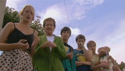 Donna Freedman, Susan Kennedy, Zeke Kinski, Declan Napier, Ringo Brown in Neighbours Episode 5663
