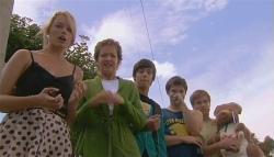 Donna Freedman, Susan Kennedy, Zeke Kinski, Declan Napier, Ringo Brown in Neighbours Episode 5663