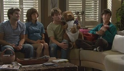 Declan Napier, Bridget Parker, Ringo Brown, Zeke Kinski, Dahl in Neighbours Episode 5664