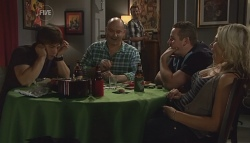 Ty Harper, Steve Parker, Lucas Fitzgerald, Toadie Rebecchi, Steph Scully in Neighbours Episode 5665