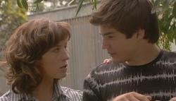Bridget Parker, Declan Napier in Neighbours Episode 5665
