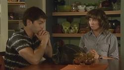 Declan Napier, Bridget Parker in Neighbours Episode 5665