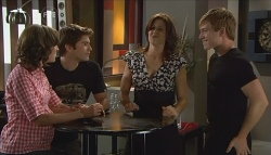 Bridget Parker, Declan Napier, Rebecca Napier, Ringo Brown in Neighbours Episode 5666