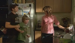 Declan Napier, Mickey Gannon, Bridget Parker in Neighbours Episode 5666