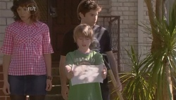Bridget Parker, Declan Napier, Mickey Gannon in Neighbours Episode 5666