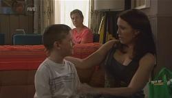 Ben Kirk, Dan Fitzgerald, Libby Kennedy in Neighbours Episode 5667