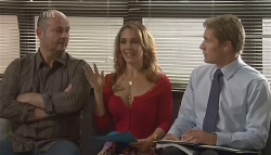 Steve Parker, Cassandra Freedman, Dan Fitzgerald in Neighbours Episode 5668