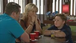 Toadie Rebecchi, Steph Scully, Callum Jones in Neighbours Episode 5668