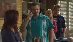 Libby Kennedy, Toadie Rebecchi, Elle Robinson, Lucas Fitzgerald  in Neighbours Episode 5669