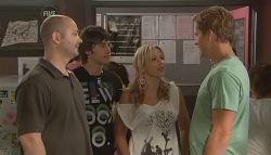 Steve Parker, Ty Harper, Steph Scully, Dan Fitzgerald  in Neighbours Episode 5669