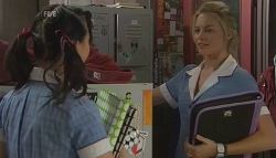 Sunny Lee, Donna Freedman in Neighbours Episode 5671