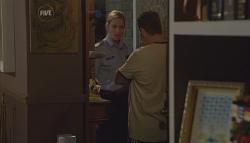 Senior Sergeant Elise Caskey, Toadie Rebecchi in Neighbours Episode 5672