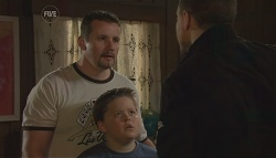 Toadie Rebecchi, Callum Jones, Guy Sykes in Neighbours Episode 5672