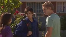 Libby Kennedy, Zeke Kinski, Dan Fitzgerald in Neighbours Episode 5672